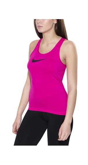 Nike Pro Cool Hardloopshirt mouwloos Dames roze